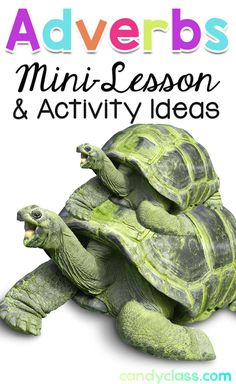 Find fun ideas for teaching about adverbs during your grammar lessons and center activities in your second grade and third grade classrooms. Teaching Grammar, Teaching Language Arts, Grammar Lessons, Teaching Writing, Teaching Ideas, Language Lessons, Teaching Strategies, Adverb Activities, Writing Activities