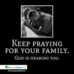 Let us continue to pray that our unfaithful family members repent, get baptized in Jesus name, and receive the Holy Ghost.