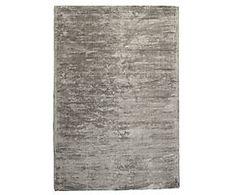 Tapijt Square Silky Silver, 70 x 140 cm