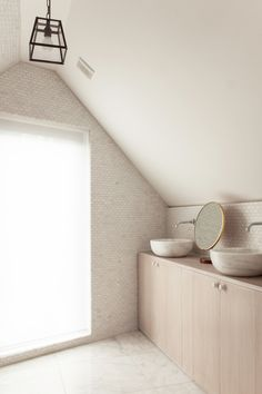 Baño #Decoración #buhardillas #Dormers #garrets #attics #bright #design