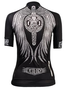 Flow Womens Black Cycling Jersey