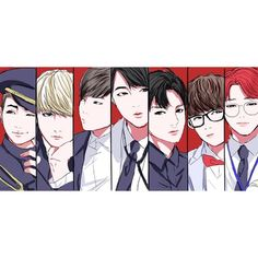 BTS fanart. Credit to owner