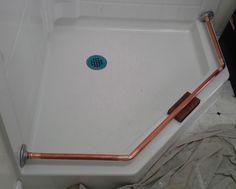 US 4999 New In Home Garden Improvement Plumbing Fixtures More Information Neo Angle Shower Rod