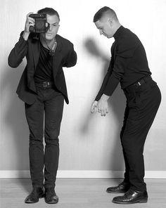 Theo Hutchcraft & Adam Anderson = HURTS... Wenn Sie Ihre Brötchen nicht mit Musik verdienen würden, als was würden Sie arbeiten?