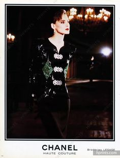 Chanel 1984 Lesage Embroidery Evening gown