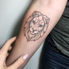 #tattoo #irainkers #linework #dotwork #lion
