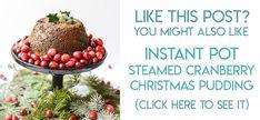 Sugar Plum Recipe for Christmas | Tikkido.com Christmas Pudding, Christmas Desserts, Christmas Treats, Christmas Recipes, Sugar Plum Recipes, Cranberry Recipes, Hard Sauce, Instant Pot Steam, Christmas Giveaways