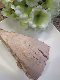 A Cozinha da Xénia: Cheese cake de mouse chocolate