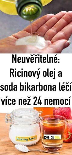 Neuvěřitelné: Ricinový olej a soda bikarbona léčí více než 24 nemocí Hairstyle, Nail, Fruit, Health, Fitness, How To Make, Food, Hair Job, Hair Style