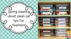 Spring Cleaning Tips for Teachers!