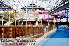 Indoor water park Schlitterbahn South Padre Island Beach Resort