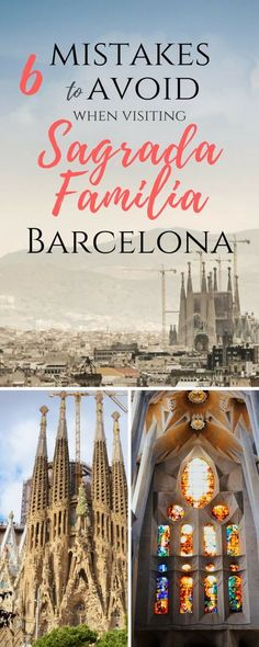 Sagrada Familia is the most visited place in Barcelona and Europe. There are a couple of things that you should know in order to enjoy your visit to the fullest. Interior, Architecture, Stained Glass, Tower, Tickets, Gaudi, Photography, Plan