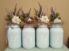 Easter mason jar set