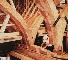 """Rochefort - Construction de la frégate """"L' Hermione"""""""