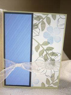 Floral card by Wrightcards on Etsy
