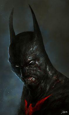 Batman Beyond by Adnan Ali | Fan Art | 2D | CGSociety