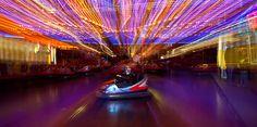 Im Vergnügungspark, Linz, Austria - ©Carambol Nightlife, Austria, Opera House, Building, Travel, Long Exposure, Night Photography, Linz, Voyage
