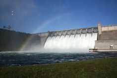 Table Rock Dam & a rainbow! - Branson MO