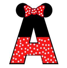 Festa Mickey Baby, Mickey E Minie, Mickey Mouse Birthday, Minnie Mouse Party, Mouse Parties, Disney Alphabet, Alphabet Art, Arte Do Mickey Mouse, Mickey Head