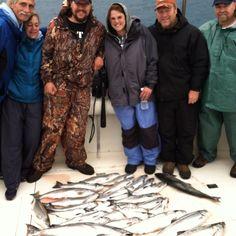 Winthrop Harbor, IL- Kinns Sport Fishing. www.kinnskatch.com