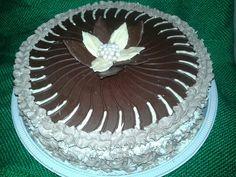 Vitoria regia de chocolate