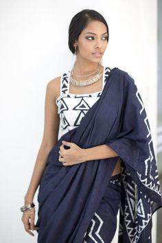 Batik Saree  www.fashionmarket.lk