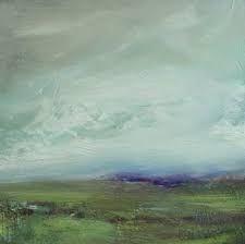 purple horizon, painting by artist Parastoo Ganjei Abstract Landscape Painting, Landscape Art, Landscape Paintings, Abstract Art, Floral Paintings, Art Techniques, Painting Inspiration, New Art, Amazing Art