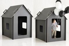 playhouse MAJA designed by Minna of the time of the aquarius blog. Photo: Nico Backström