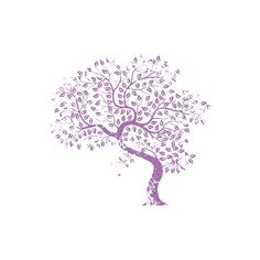 ❤ liked on Polyvore featuring backgrounds, flowers, purple, trees and drawings