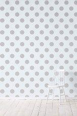 Wallpaper by ellos Callie-tapetti, metallinhohtohopea Metallinhohtohopea - Kuviolliset | Ellos Mobile