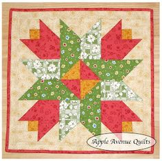 Apple Avenue Quilts: May Free Blocks