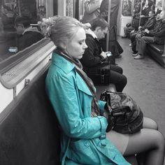 subway people by codesweeper, via Flickr