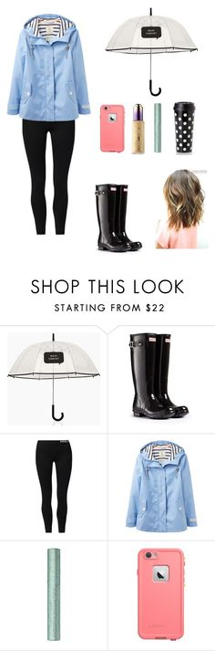 """""""rainy days 🌧🌧🌧"""" by ammurphy ❤ liked on Polyvore featuring Kate Spade, Hunter, NIKE, Joules, tarte and LifeProof"""