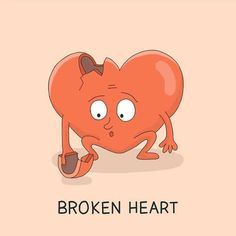 """Broken heart"" - Corazón partido, desamor.  #QQEnglish #Idioms #AprendeIngles #Expressions #Ingles #Filipinas #QQenglishEnEspañol #CursosIntensivosIngles #AprenderInglesEnElExtranjero #CorazonPartido"