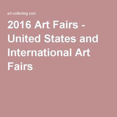 2016 Art Fairs - United States and International Art Fairs
