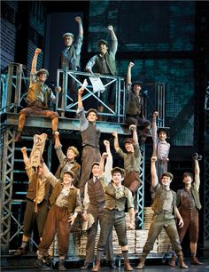Newsies!! Unreal how amazing this show is.
