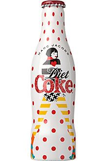 COCA-COLA Marc Jacobs '00s Diet Coke limited edition bottle 250ml