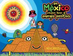 En México estamos llenos de energía positiva. Feliz #EquinoccioPrimavera  www.mexicanitos.com #mexicanitos