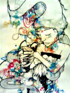 Artofprincessm:WANT, love the use of colors!!