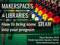 Makerspaces and the Maker Education movement are quickly taking hold of the library world. In this session, you can learn what the Maker Movement is and find s…