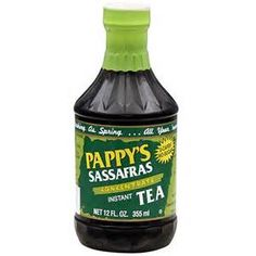 Pappy's Sassafras Tea