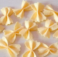 Felt food pattern-Felt Pasta by fairyfox, via Flickr