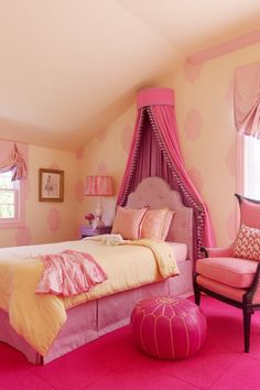 Pink bed crown