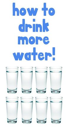 Check out these great tips for drinking more water this year!