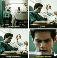 "#TeenWolf 5x12 ""Damnatio Memoriae"" - Stiles and his dad"