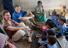Bill and Melinda Gates-  Why we give  #givingtuesday