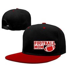 Enneth 2016 New FOOTBALL MOM SIGN 2C Custom Unisex Adjustable Baseball 9FIFTY Snapback Hip Hop Cap Hat Red - Brought to you by Avarsha.com