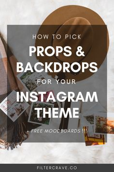 Boost Your Instagram Theme with the Perfect Photography Props and Backdrops | Filtercrave