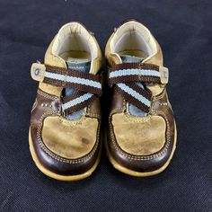 Clarks boys my First Shoes size brown & blue with bugs on sole infant toddler Infant Toddler, Clarks, Bugs, Baby Shoes, Amp, Best Deals, Brown, Sneakers, Ebay