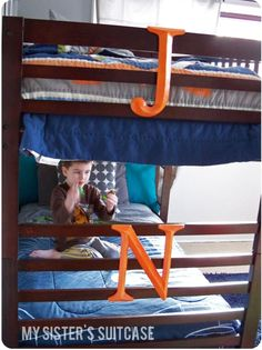*****USE THIS LINK****** My Sister's Suitcase: Monogram bunk beds